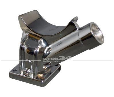 Lichtmaschinenträger Chrom, nur für 105mm Lichtmaschinen