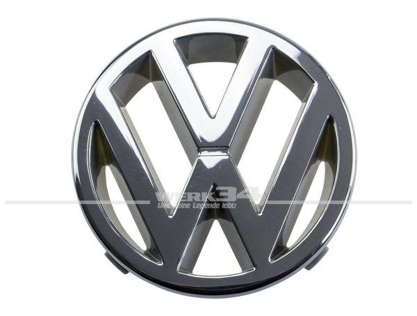 Marken-Emblem vorn chrom, z.B. Golf I Cabrio, Golf II, Golf III