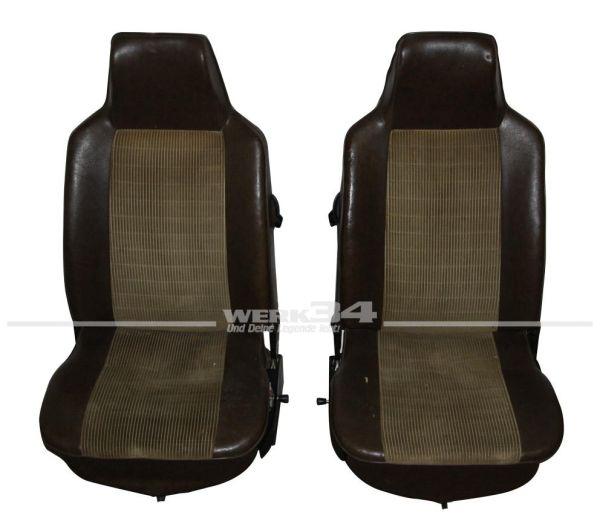 Sitze mit integrierten Kopfstützen ab 08/72 gebraucht Käfer,Innenausstattung