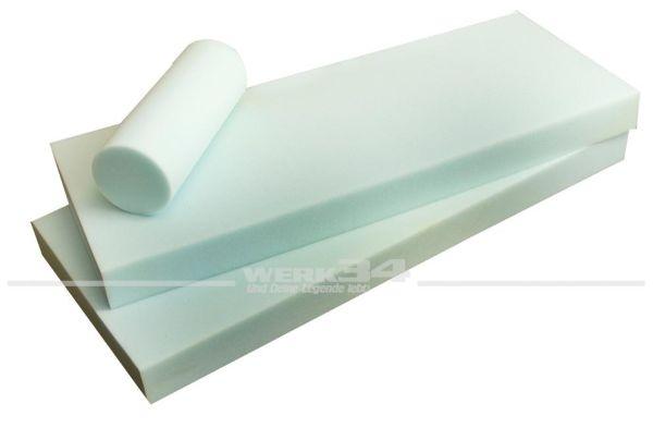 Schaumstoff für Klappsitzbank (ca.125cm Breit ) für Sitzfläche und Rückenteil