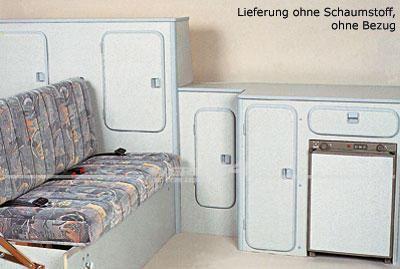 Möbelpaket Speedy für VW Bus T3 79-92