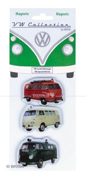 "Magnete VW Bulli Silhouette ""Sonderfahrzeuge"""