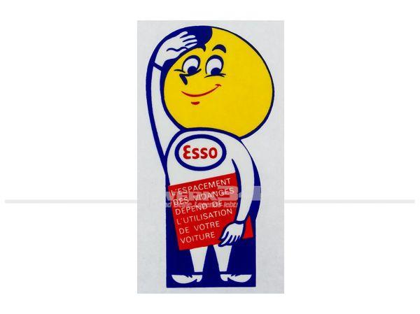 "Aufkleber ""Esso Mann"""