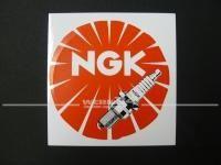 """Aufkleber """"NGK"""""""