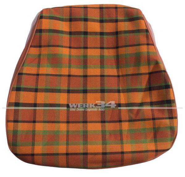Bezug für Sitzfläche, orange, passend für Westfalia T2B