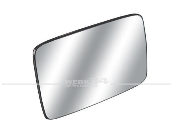 Spiegelglas, rechts, passend für Golf III + Vento