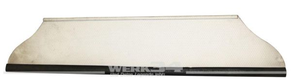 Ablage unter Armaturenbrett, schwarz/weiß gelocht, passend für Typ 3 alle Baujahre