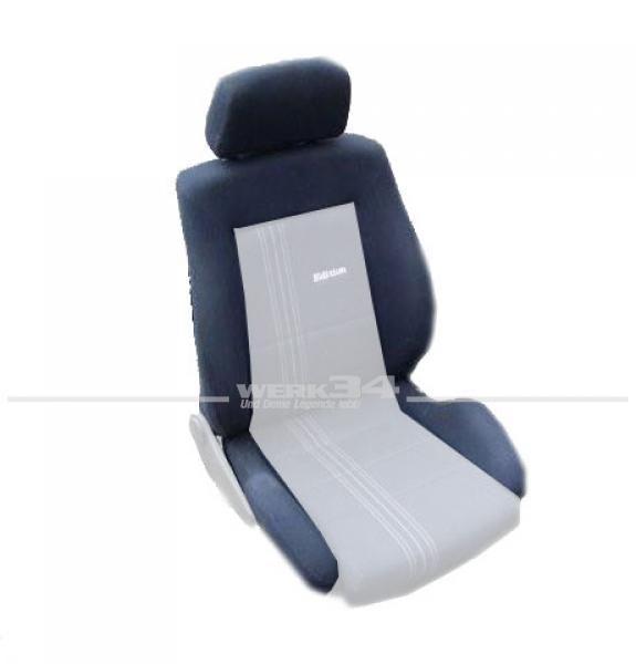 Bezugsstoff GTI Edition One, für Sitzwange, dunkelblau