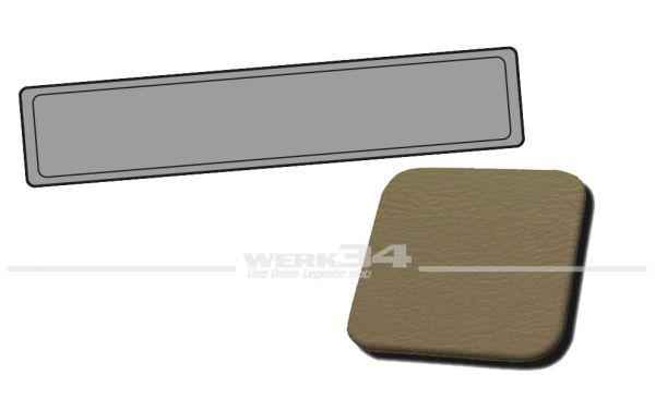 Verkleidung Heckklappe beige, passend für Typ 3 Variant, Bj. 1962-67