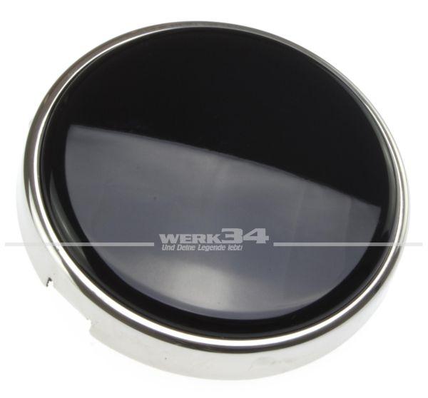 Hupenknopf passend für bis -07/1955 und Petri / Banjo Lenkrad in schwarz