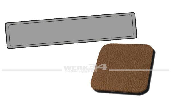 Verkleidung Heckklappe sand, passend für Typ 3 Variant, Bj. 1962-67