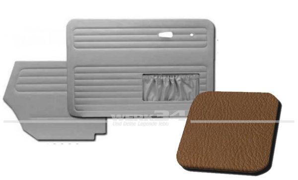 Verkleidungssatz 4-tlg. in Farbe sand, passend für alle Cabrio ab Bj.8/72