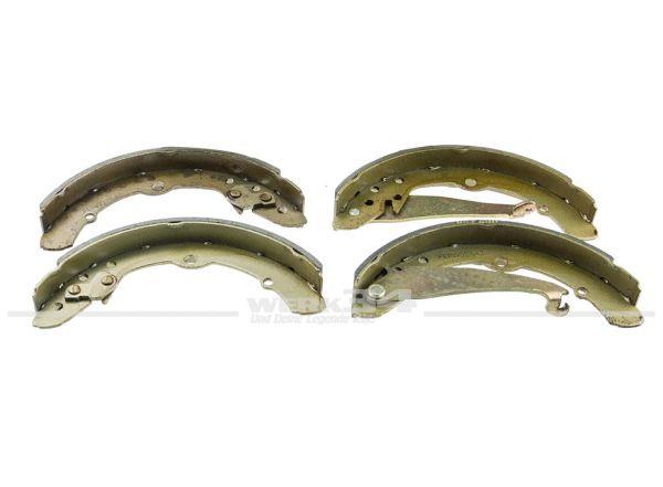4-tlg. Satz Bremsbacken hinten, passend für Caddy II