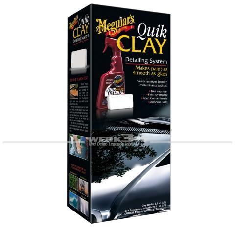 Meguiars Lackpflege Lackreiniger Quik Clay Detailing System
