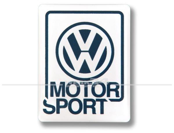 """Aufkleber """"VW Motorsport"""" klein"""