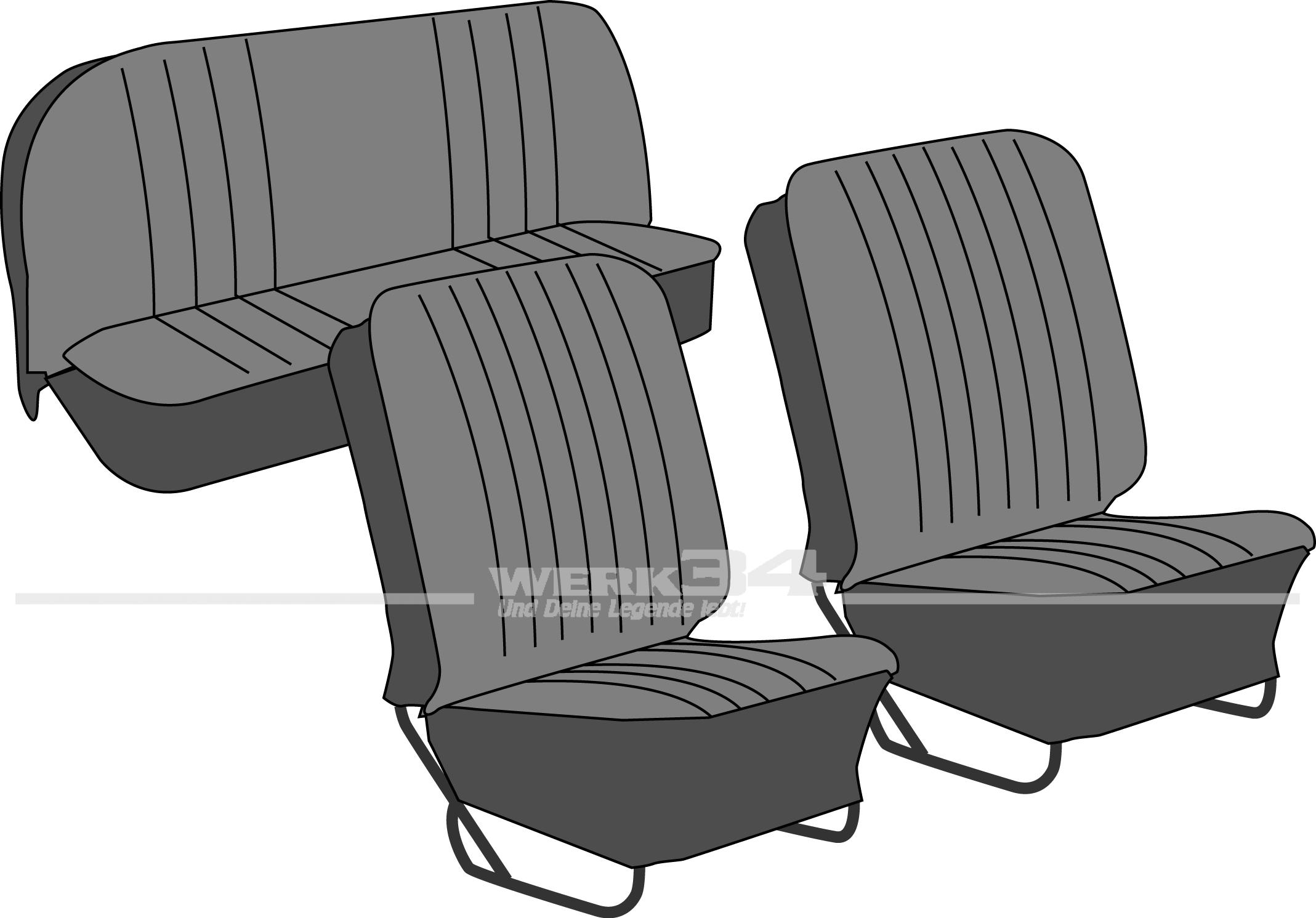 sitzbez ge und bezugsstoffe innenausstattung k fer. Black Bedroom Furniture Sets. Home Design Ideas