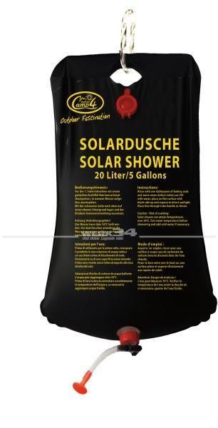 Solardusche mit Aufhängevorrichtung, 20 Ltr. Volumen