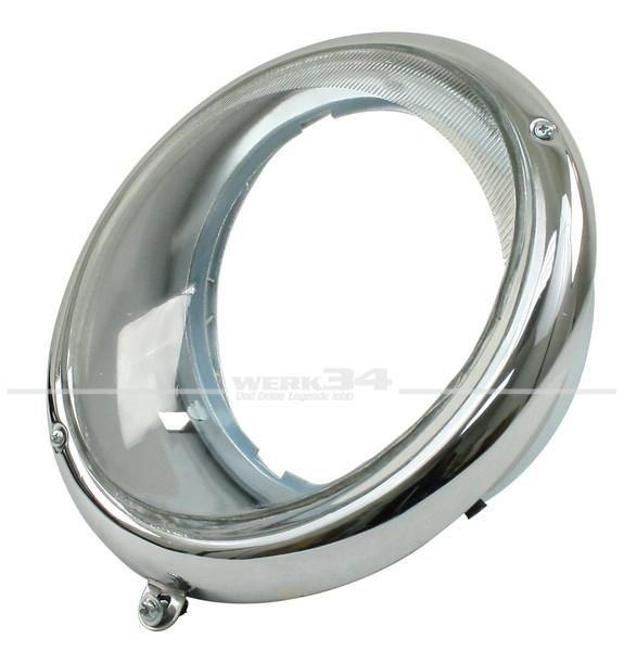 Scheinwerfer - Sealed beam - vom US Modell, kann aber mit H4 Scheinwerfer verwendet werden.