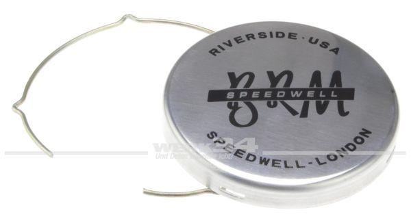 Ersatznabendeckel, alu poliert, für SSP BRM-Style Felge