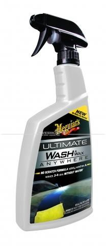 Meguiars Autoshampoo & Wachs - Ultimate Wash & Wax Anywhere, Grundpreis pro Liter: 32,42 Euro