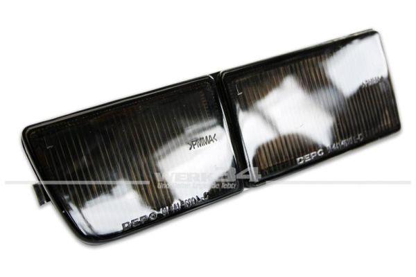 Blende lang, Blinker/Nebelscheinwerfer, links, schwarz , Golf III und Vento