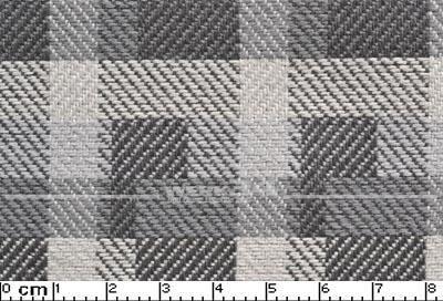 Bezugstoff grau, Blockstreifen, verbaut z.B. bei Golf II, Grundpreis: 49,28 EUR pro m2