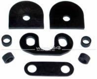 Dichtungssatz für Cabrio Heckscheibenverschluss, passend für Modelle ab 08/68 Karmann,Scheiben