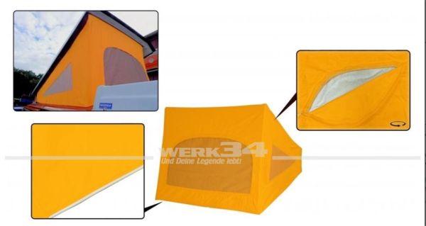 Zelt für Westfalia Hubdach / Klappdach, passend für Modelle von 08/73-07/79, maisgelb