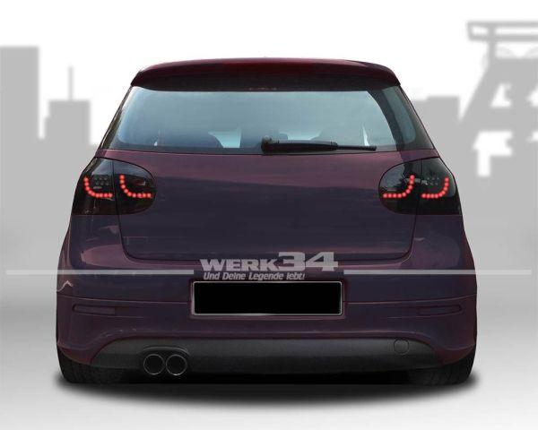 Rückleuchten Urban Style, VW Golf 5 03-, LED, inkl. LED Blinker/Bremslicht, schwarz