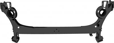 Hinterachse-Wassergek-hlt-Golf-IV
