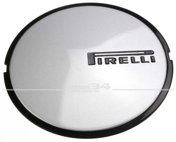 Felgendeckel passend für Pirelli Felge 6x14, silber lackiert