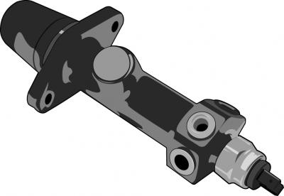 Handbremszylinder vorn f/ür Scheibenbremse Bremslichtschalter
