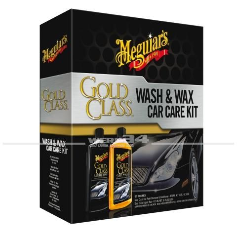 Meguiar s Gold Class Wash & Wax Car Care Kit, je 473ml, Grundpreis pro Liter: 82,24 Euro