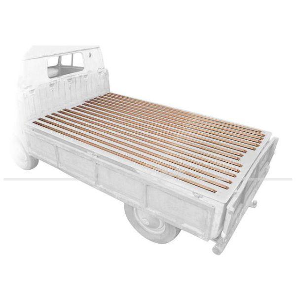 Holzleisten für die Ladefläche, Satz, passend für Bus T2 Pritsche Baujahr 1968-79