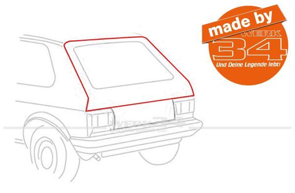 Heckklappendichtung Golf I / II + Golf I Cabrio, 3500 mm