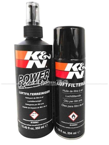 K&N Reinigungsset für Sportluftfilter