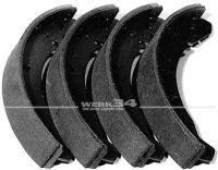 Bremsbacken hinten passend für Modelle von 03/55-07/63