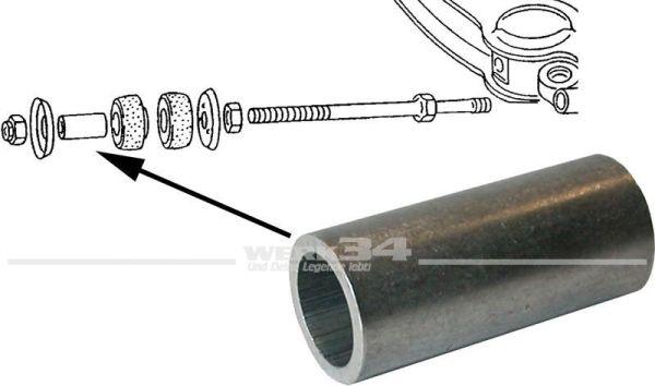Metallhülse für Gummilager-Zugstrebe