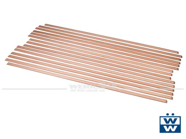 Holzleisten für die Ladefläche, Satz, passend für Bus T2 Doka Baujahr 1968-79