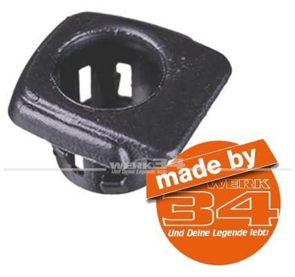 Führung für Türpin, schwarz, passend für Golf II + Jetta II