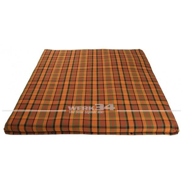Bezug für Matratze im Schlafdach, groß, orange, passend für Westfalia T2B