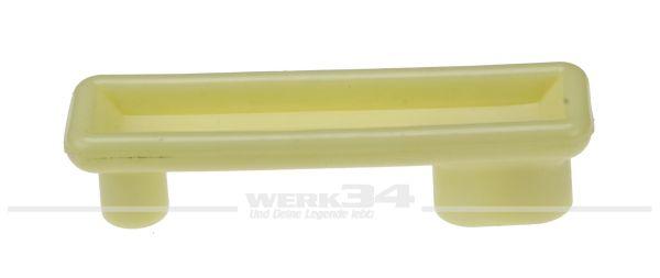Möbelgriff für Kühlschrank, weiß/grau, passend für Westfalia Bus T2