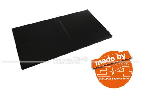 Reparaturblech Boden in Sitzkonsole/Batteriefach, Bus T3