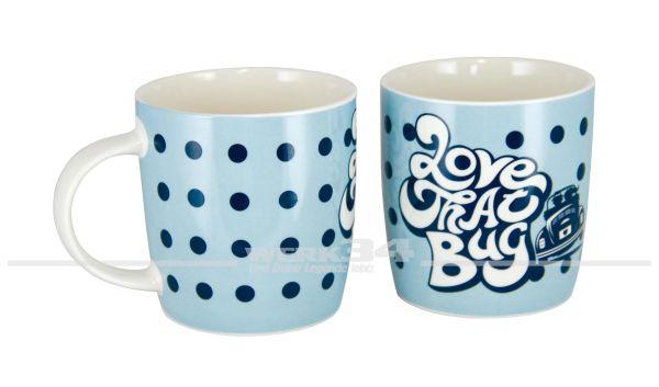 Käfer Kaffeetasse, blau