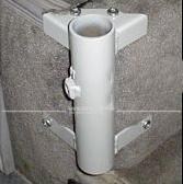 Halter / Fuß für Westfalia Tisch am Sitzhöcker, verzinkt, 36 mm