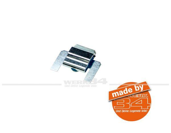 Klammer für Fensterführung / Schachtleiste