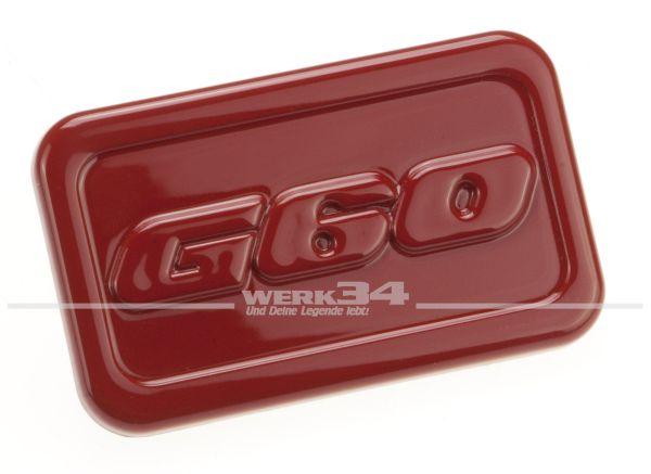 """Abdeckung für Seitenblinker """"G60"""", rot"""