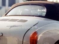 Gummidichtung für Cabrio-Heckscheibe, passend für Modelle ab 12/68 Karmann,Dichtung