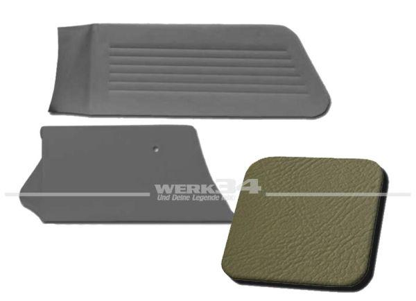 Seitenverkleidungen hinten grau, passend für Typ 3 Variant, Bj. 1966-73