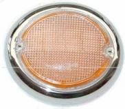 Blinkerglas links, orange passend von 08/63-07/67